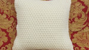 """The """"Popcorn"""" cushion cover"""