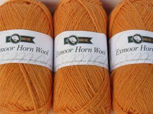 Bossington Bracken coloured double knit wool